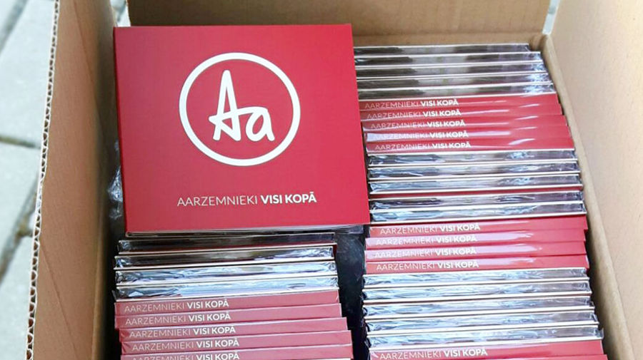CD design, box with CDs