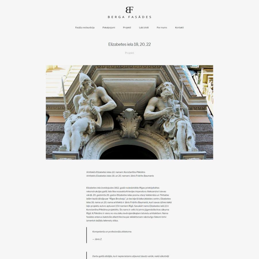 web design riga, screen 01