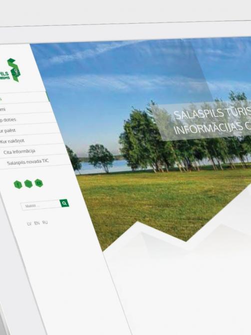 Visit Salaspils, a tourism website