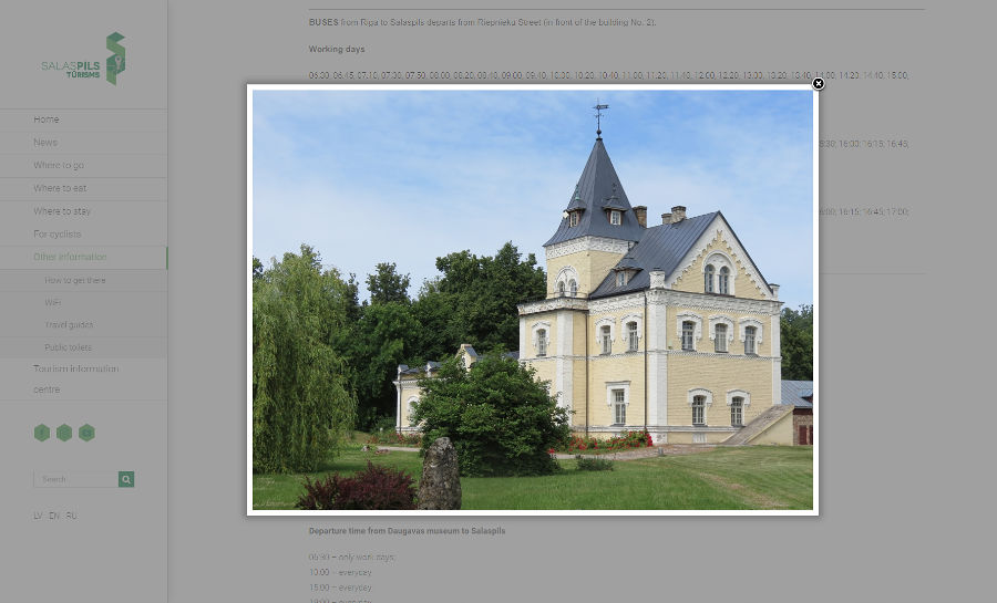 Visit Salaspils, Daugava Museum